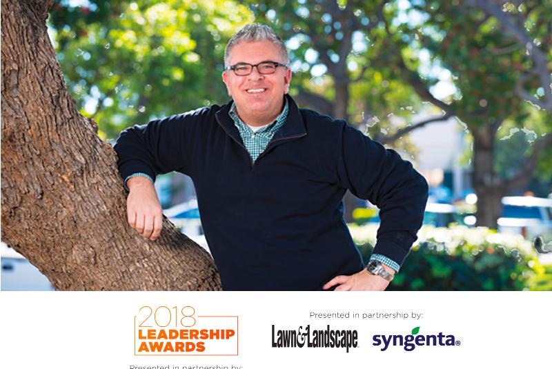 Lawn and Landscape Leadership award.